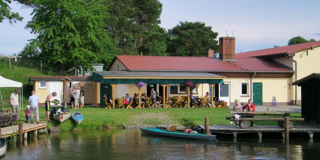 Fischereihöfe  Angeln in Canow an der Havel