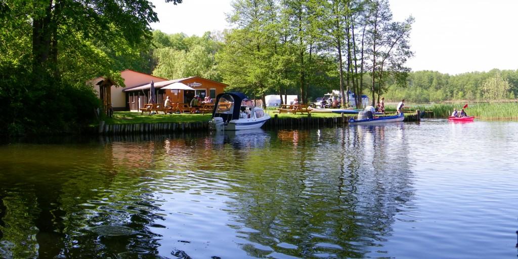 """Fischereihöfe - Seenfischerei """"Obere Havel"""" - Angeln - Ferienwohnungen"""