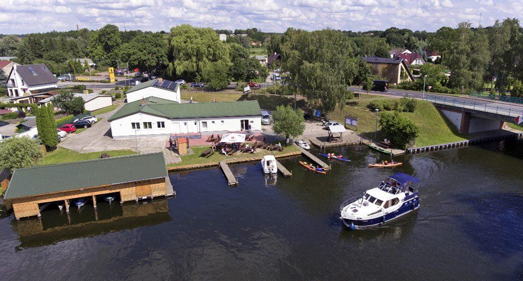 Fischereihof Mirow Luftbild