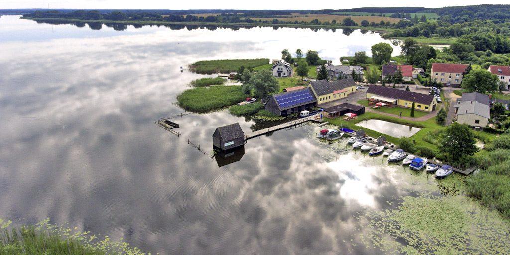 Luftbild Fischereihof